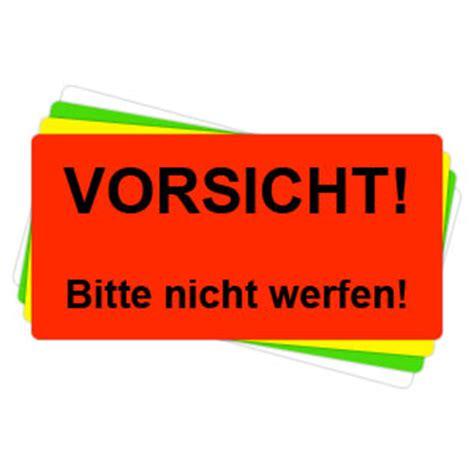 Ups Aufkleber Bestellen by Versandaufkleber Vorsicht Bitte Nicht Werfen V022