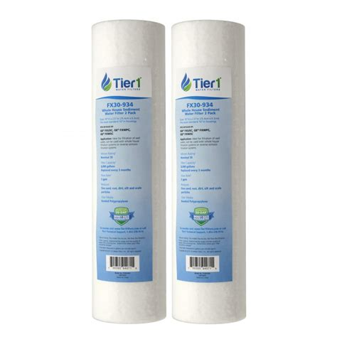 whole house sediment water filter fxusc ge comparable whole house sediment water filter 2 pack by tier1