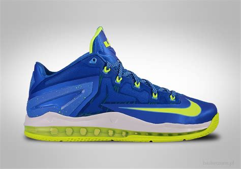 Sepatu Basket Lebron 14 Low Navy Blue Yellow nike lebron xi low sprite for 125 00 basketzone net