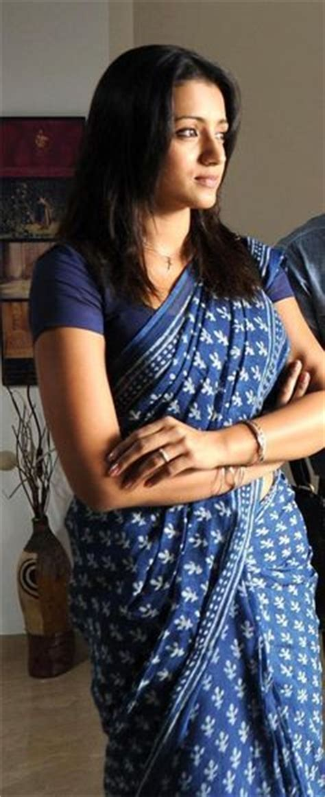 trisha hair in vtv trisha on pinterest saree block prints and saris