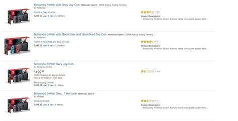 amazon nintendo switch amazon and ebay are flooded with people scalping their