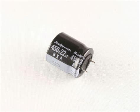 rubycon aluminium capacitor 450bxa22mc518x20pos rubycon capacitor 22uf 450v aluminum electrolytic radial high temp 2020002255