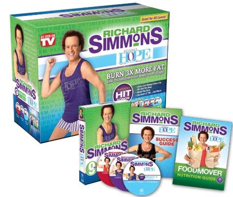 richard simmons project h o p e home workout system dvd
