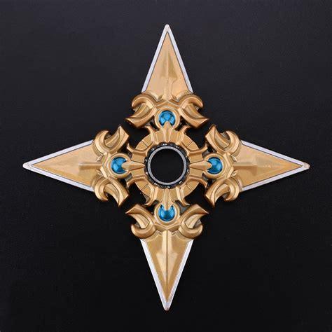 Fidget Spinner X Tri Suriken overwatch genji shuriken tri spinner edc dart metal