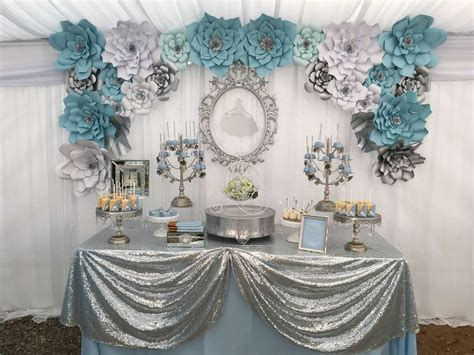 Cinderella Themed Quinceanera Decorations | cinderella quincea 241 era party ideas quinceanera ideas