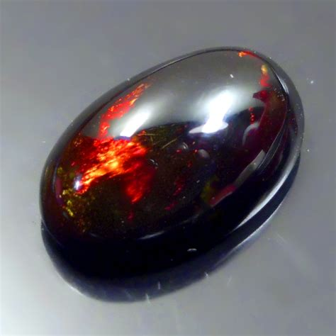 black opal natural black opal kalimaya lp266 victory gemstone
