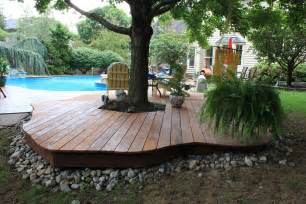ground level patio ideas ground level decks pa deck builders and patio contractors