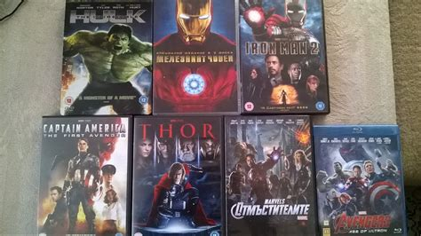 Dvd Original Thor The World Marvel the marvel cinematic universe collection on dvd and