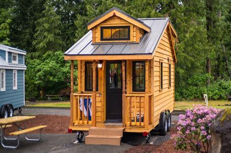 mini vacation at the tumbleweed linden atticus tiny house at mt hood tiny house village