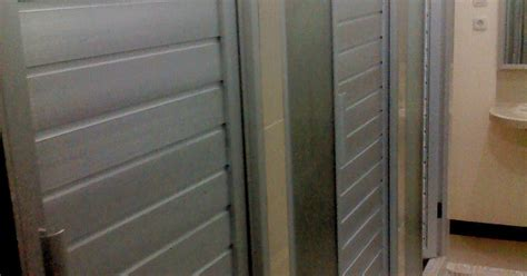 Pintu Kamar Mandi Aluminium Motif