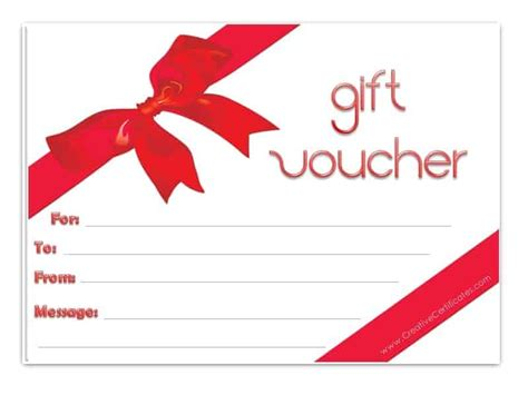 Gift Vouchers Templates by Gift Voucher Template