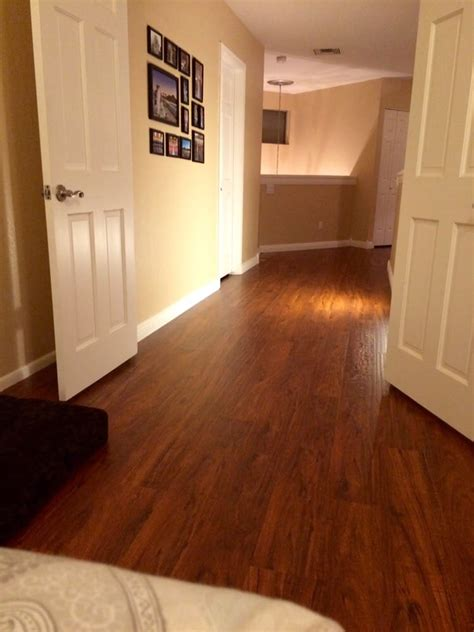 cherry wood hallway new brazilian cherry wood laminate in our upstairs bedroom