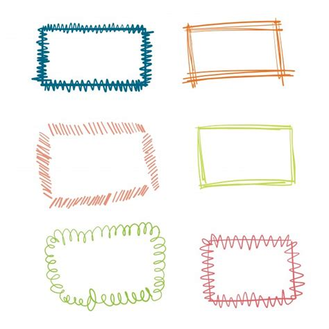 free doodle vector frame doodle frame vectors photos and psd files free