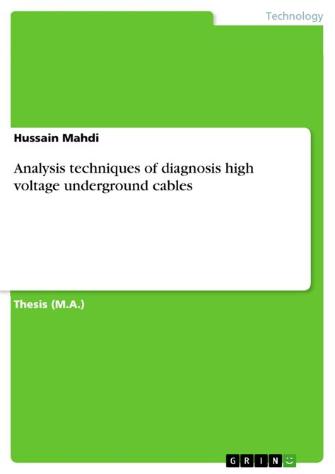 thesis on translation strategies analysis techniques of diagnosis high voltage underground