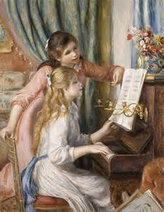 two at the piano by renoir facts about the