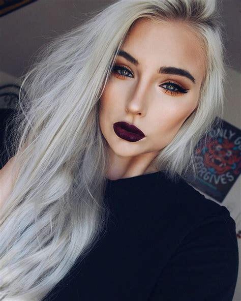 hair and makeup tumblr make up fall makeup look tumblr dark lipstick lipstick