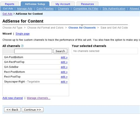 adsense url channels adsense custom and url channels can double your income