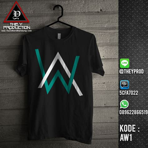 Baju Kaos Band Rock Greenday kaos band kaos satuan kaos custom alan walker aw1 jual