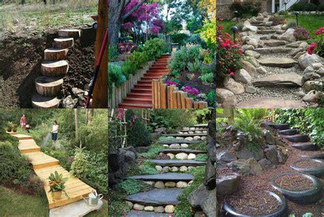 Garten Gestalten Do It Yourself by 24 Ideen F 252 R Diy Garten Treppen Nettetipps De