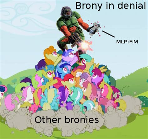 Know Your Meme Brony - brony in denial my little pony friendship is magic