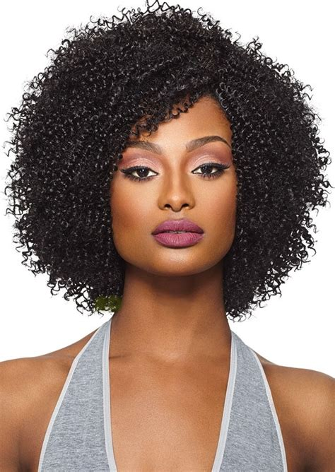 styles for one pack of weave outre purple pack human hair blend big beautiful weave 4c