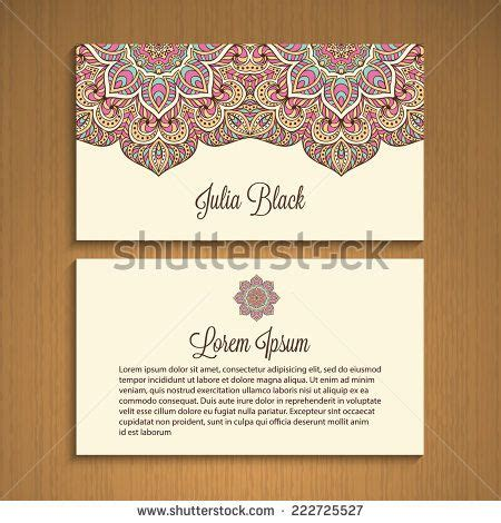 henna design business henna motif business card google search henna