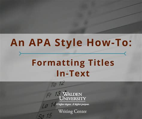 how to write a book name in a paper an apa style how to formatting titles in text