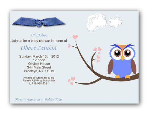 Baby Shower Invitation Card Wording