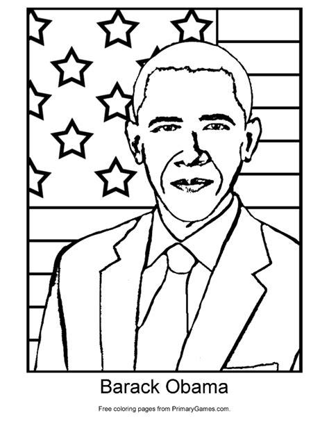 barack obama coloring page pdf barack obama coloring page printable president s day