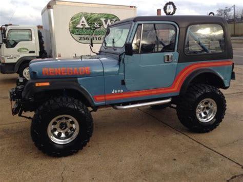 Used Jeeps Alabama Purchase Used Jeep Cj7 Rock Crawler Nitto Mud 4wd In