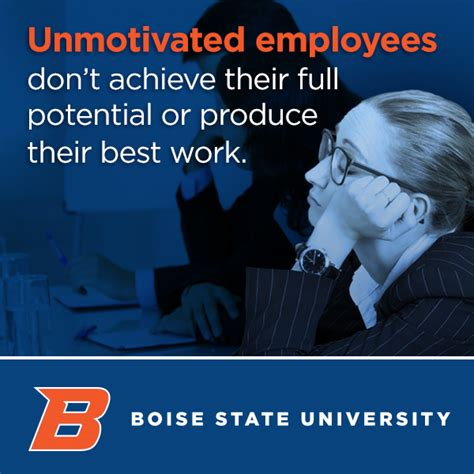 Boise State Mba Tuition by Tips For Motivating Employees Boise State