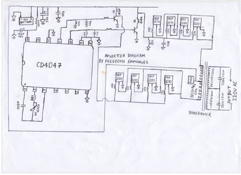 1000 watt inverter circuit diagrams wiring diagram with