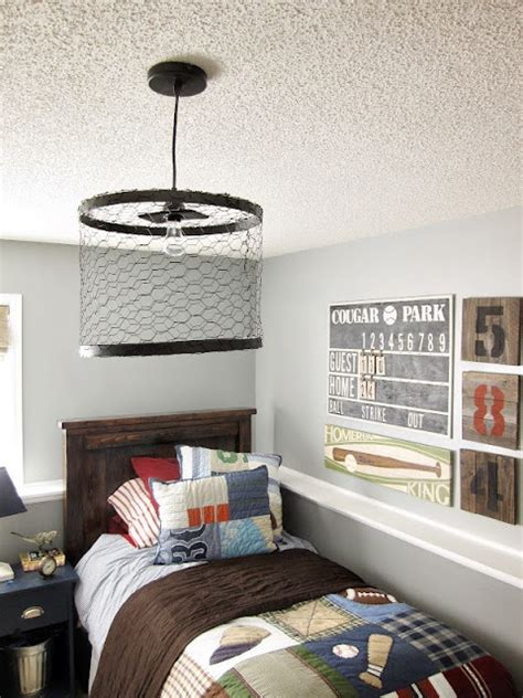 20 Teenage Boy Room Decor Ideas A Little Craft In Your Boys Lights For Bedroom