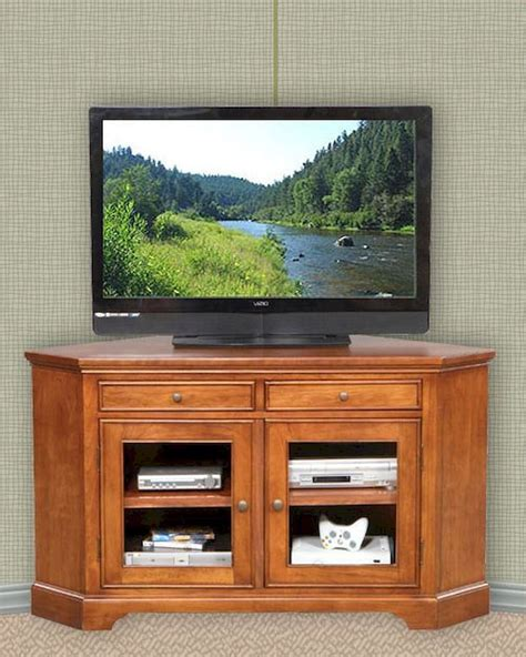 Tv Stands With Glass Doors by Winners Only Glass Door Corner Tv Stand Wo Tt155wb