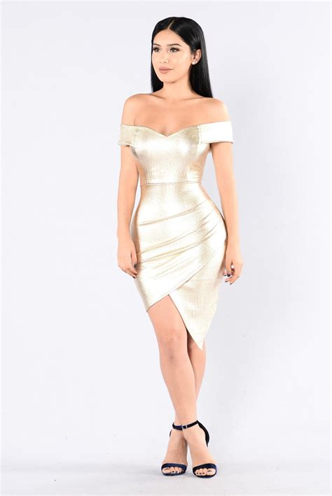 Dress Elita elite dress gold