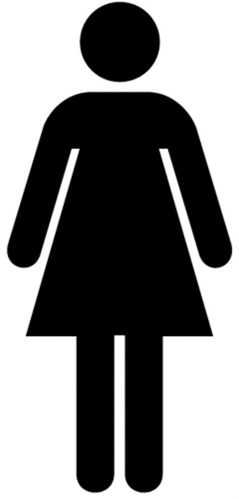 woman bathroom symbol free clip art of universal symbols and signs