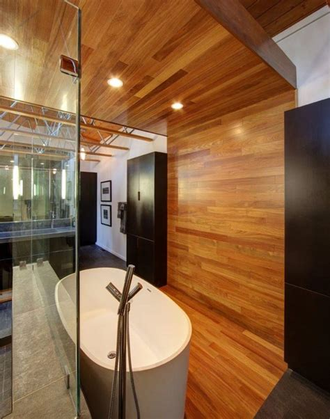 wooden ceilings bathroom ideas housely