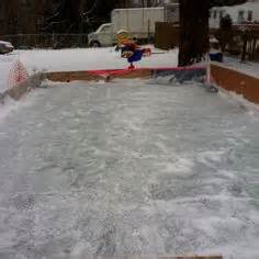 easy backyard ice rink 1000 images about hockey rink ideas on pinterest ice