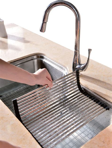 kitchen sink accessory dsu3118 sink drain mat modern kitchen sink