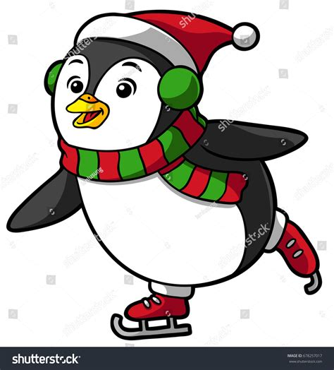 Ordinary Christmas Music Royalty Free #6: Stock-vector-cartoon-christmas-penguin-skating-678257017.jpg
