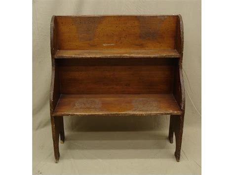 bucket bench antique 17 best images about primitive shelves benches on