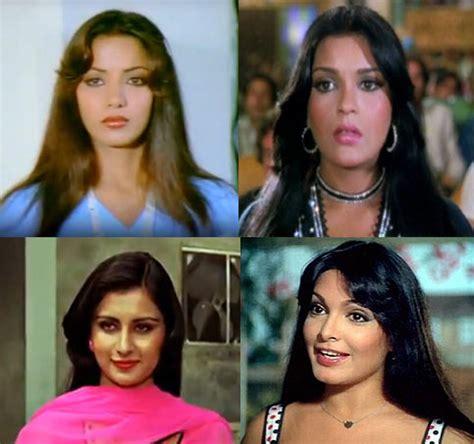 parveen babi zeenat aman pix bollywood s iconic hairstyles over the years