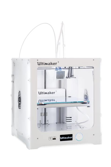 Printer 3d Ultimaker ultimaker unveils their next generation 3d printer the ultimaker 3 3dprint the voice of