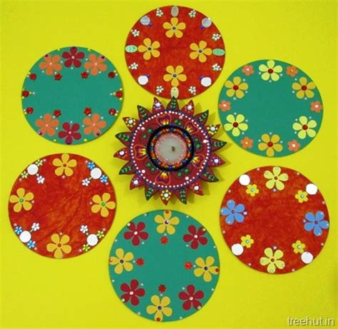 Handmade Rangoli Designs - easy cd rangoli designs for diwali