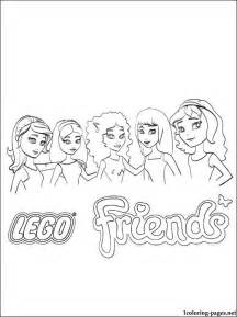 lego girls coloring pages search