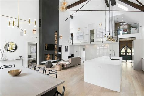 church converted into an eclectic family home