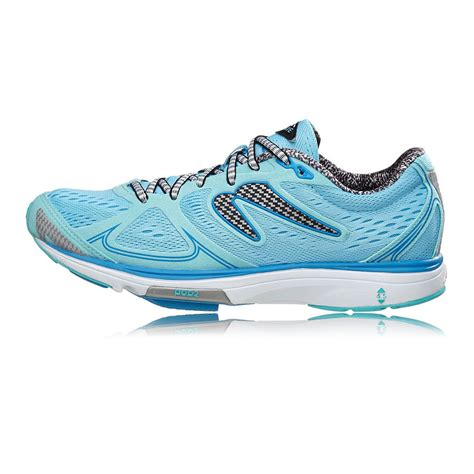 newton sneakers newton fate womens blue sneakers running road sports shoes
