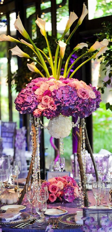 17 Best Images About Purple Pink Wedding Ideas Purple Pink And Purple Centerpieces