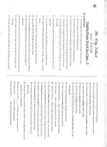 the city worksheet for class 3 english maths