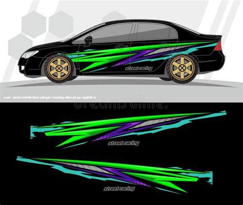 Car Design Sticker Vector Graphics by Bumper Stickers Vector